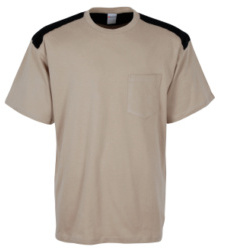 Foto de Camiseta Combi Beige/Negro
