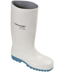 Foto de Bota Impermeable Dunlop Acifort S4 Blanco