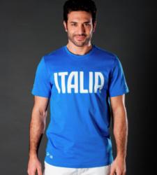 foto di T-shirt FIGC ITALIA bluette