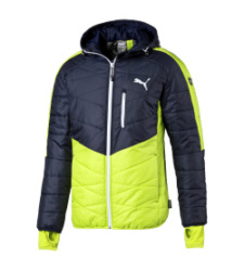 Foto von Puma ACTIVE Norway Jacke limepunch peacoat