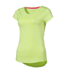 foto di T-shirt Puma Heather Cat Tee verde