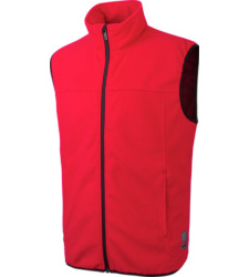 Photo de Gilet de travail polaire Würth MODYF Lynx rouge