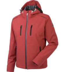 Photo de Softshell de travail femme Würth MODYF Phoenix marsala