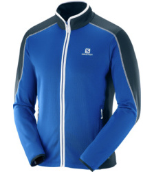 Foto von Salomon Atlantis FZ Fleecejacke blue yonder big blue