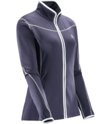 Foto von Salomon Atlantis FZ Fleecejacke nightshade grey