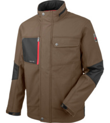 foto di Giacca in Softshell marrone Nature