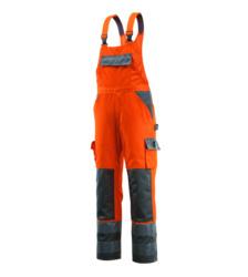 Foto von Warnschutz Arbeitslatzhose Mascot Barras EN 20471 2.2 Länge 76 orange