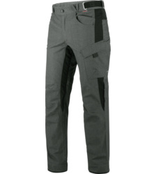 Photo de Pantalon de travail  Würth MODYF softshell Artic II gris mélangé