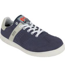 Arbeitsschuhe S1P, Farbe blau, Stahlzehenschutz, textiler Durchtrittschutz, modernes Design, sportlicher Look, aus ultraleichter Mikrofaser