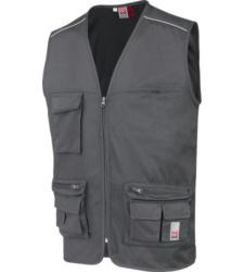 Photo de Gilet de travail multipoches Classic Würth MODYF gris