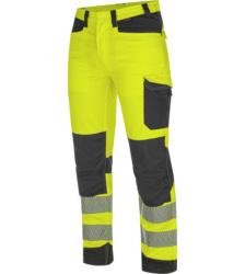 Foto von Warnschutz Bundhose FLUO EN 20471 gelb anthrazit