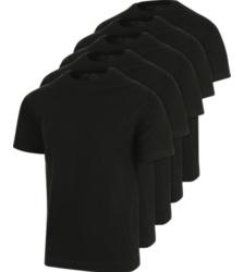 Photo de Lot de 5 tee-shirts de travail Würth MODYF noir