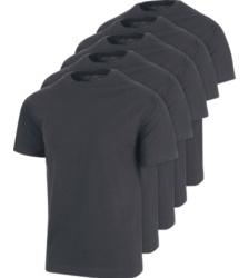 Photo de Lot de 5 tee-shirts de travail Würth MODYF anthracite