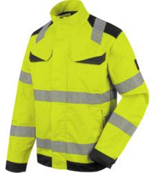 Photo de Veste de travail haute-visibilité fluo jaune/anthracite Würth MODYF
