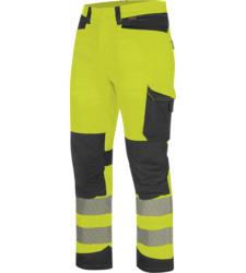 Foto von Warnschutz Winter Bundhose FLUO EN 20471 gelb anthrazit