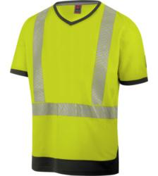 Photo de Tee-shirt de travail haute-visibilité jaune fluo Würth MODYF