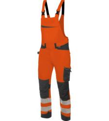Foto von Warnschutz Arbeitslatzhose FLUO EN 20471 orange anthrazit