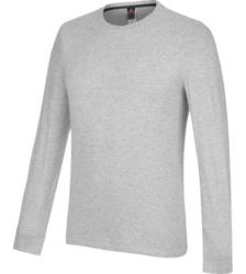 foto di T-shirt manica lunga Job + grigio melange