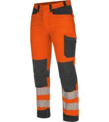Foto von Warnschutz Bundhose FLUO EN 20471 orange anthrazit