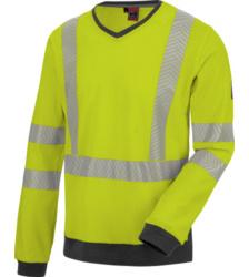 Foto van Würth MODYF high-visibility werk-tee-shirt met lange mouwen, neongeel