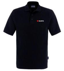 Foto von Poloshirt Classic Herren schwarz mit Würth Logo