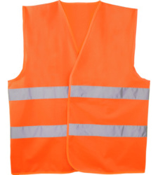 Photo de Gilet haute visibilité orange fluo