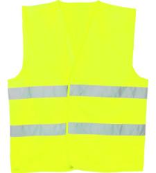 Photo de Gilet haute visibilité jaune fluo