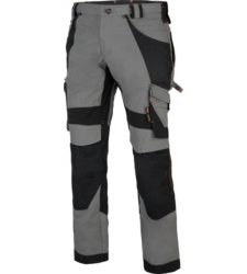 Photo de Pantalon de travail Interax Timberland Pro gris/noir