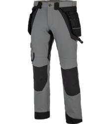 Photo de Pantalon de travail Morphix Timberland Pro gris/noir