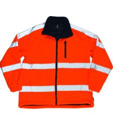 Foto von Mascot Salzburg Warnschutz Fleecejacke orange