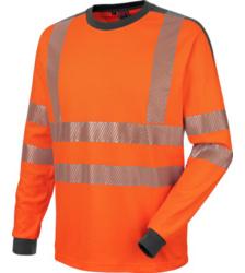 Foto von Warnschutz Langarmshirt Neon orange
