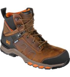 Photo de Chaussures de sécurité S3 WR HRO SRC ESD Hypercharge Cuir Timberland Pro brunes