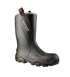 Photo de Bottes de sécurité S5 SRC CI HRO CR Purofort + Reliance Dunlop anthracites