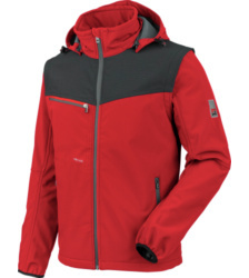 Foto von Softshelljacke Stretch X rot
