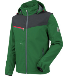 foto di Giacca in Softshell X verde