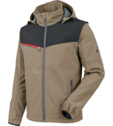 foto di Giacca in Softshell X beige