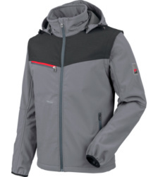 foto di Softshell Stretch X grigio
