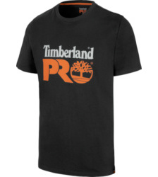 Photo de Tee-shirt de travail Core Timberland Pro noir