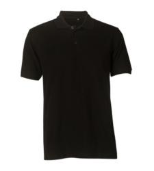 Foto von Poloshirt Basic schwarz