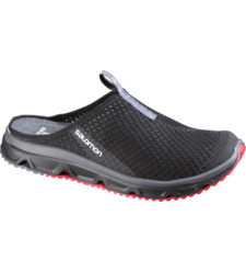Foto von Salomon RX Slide 3.0 Sandale Black, Bright Red, Dark Cloud
