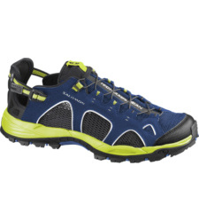 Foto von Salomon Techamphibian 3 Sandale Blue, Black, Gecko Green