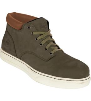 Chaussures de sécurité S1P ESD SRC Disruptor Chukka Timberland Pro brunes
