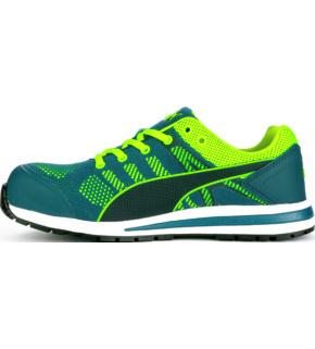 acheter pas cher 8e708 f7802 Baskets de sécurité S1P ESD HRO SRC Elevate Knit Green Puma vertes