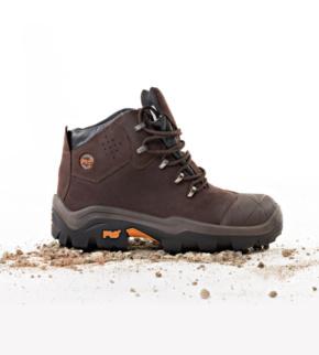 Chaussures de sécurité Timberland Pro Snyders Brown S3 SRC brunes