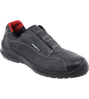aperçu de gamme exclusive fabrication habile Chaussures de sécurité sans lacet Oxygène S1P SRC noires