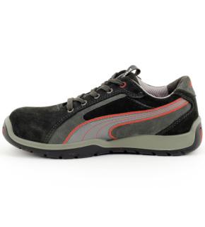 énorme réduction 56781 ad323 Chaussures de sécurité S1P SRC HRO Dakar Puma noires/grises/rouges