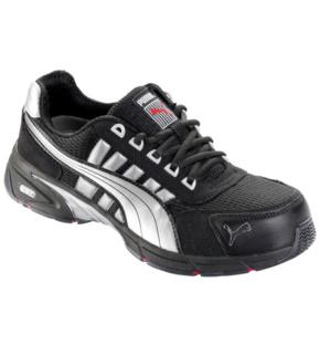 plus récent b8449 f9fea Chaussures de sécurité S1P SRA HRO Puma Speed noires/blanches