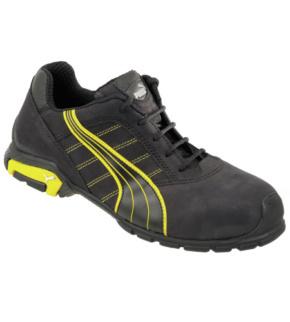 chaussures de securite puma metro protect s3 noir jaune