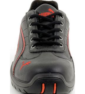 Chaussures de sécurité S3 SRC Puma Daytona HRO noiresrouges