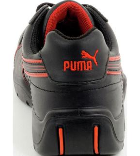 meilleure sélection b0e73 a7d01 Chaussures de sécurité S3 SRC Puma Daytona HRO noires/rouges
